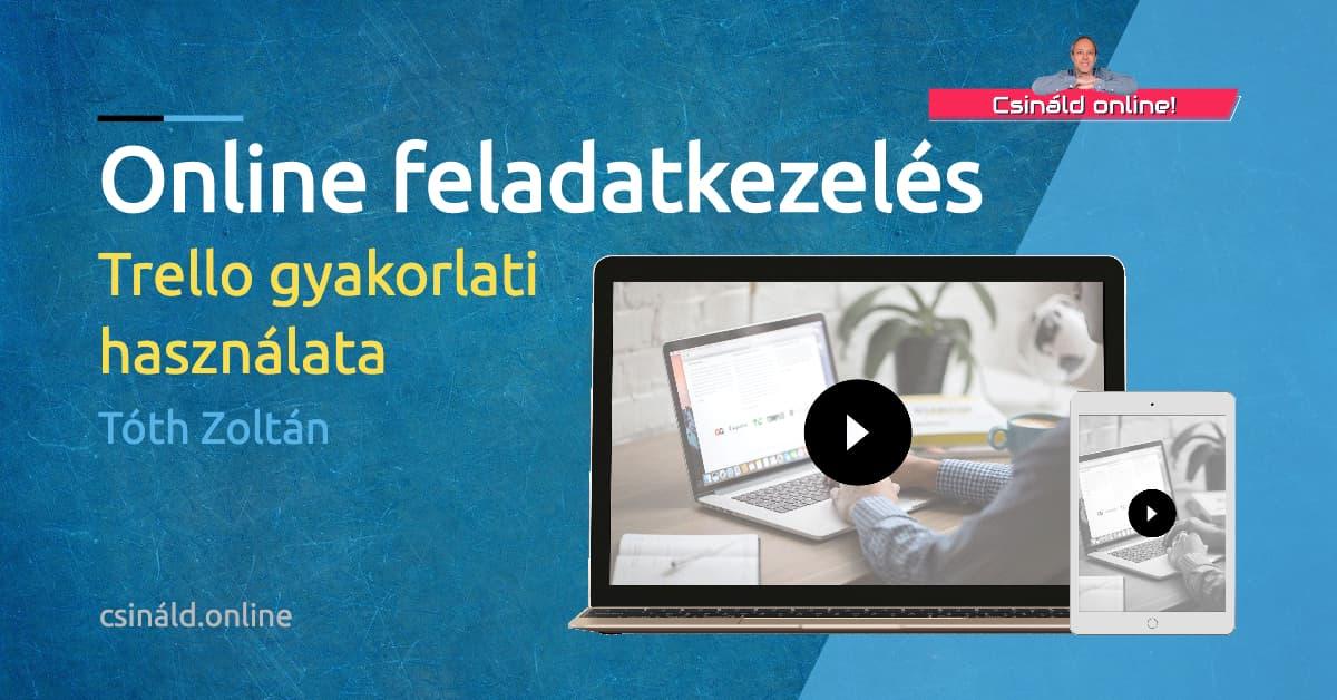 Online feladatkezelés: Trello gyakorlati használata